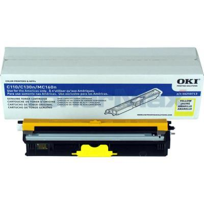 OKI C110 TONER CARTRIDGE YELLOW HY